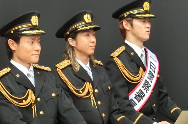 和太鼓グループ彩:一日警察署長写真3